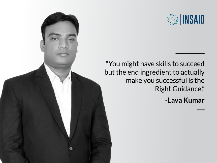 Lava Kumar INSAID data science student