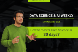 How to master Data Science in 30 days?