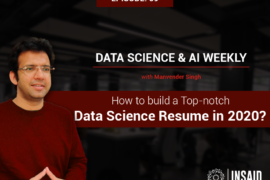 How to build a Top notch Data Science resume in 2020?