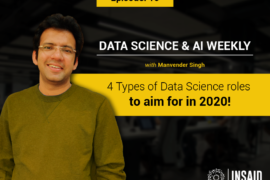4 types of Data Science roles