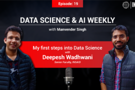 My first steps into Data Science