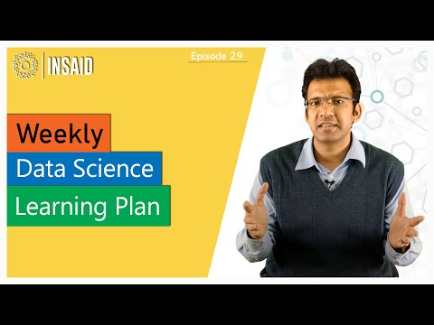 Weekly Data Science Learning Plan | Ep #29