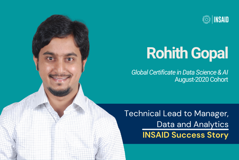 Success Story | Rohith's transition from Tech Lead to Manager, Data & Analytics, PwC