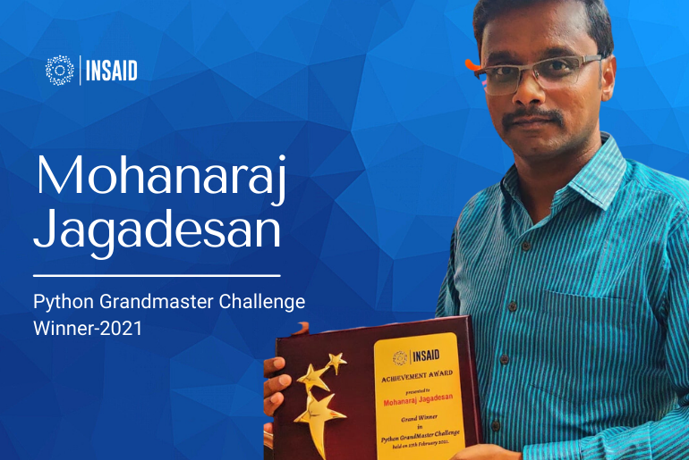 How to Succeed in Python for Data Science | INSAID Talks with Mohanaraj Jagadesan